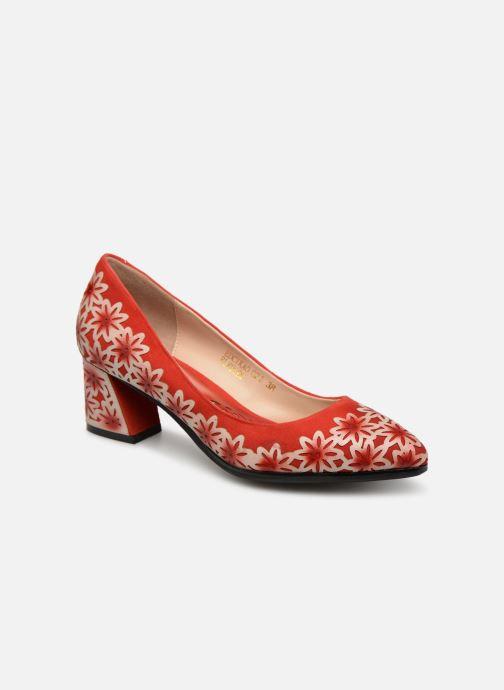 Zapatos de tacón Laura Vita EDCIKAO 021 Rojo vista de detalle / par