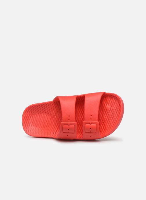 Sandalen MOSES Basic E rot ansicht von links