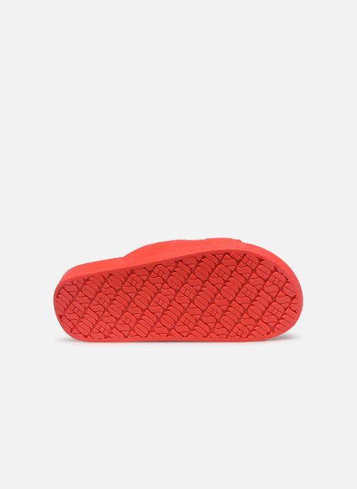 Sandalen MOSES Basic E rot ansicht von oben
