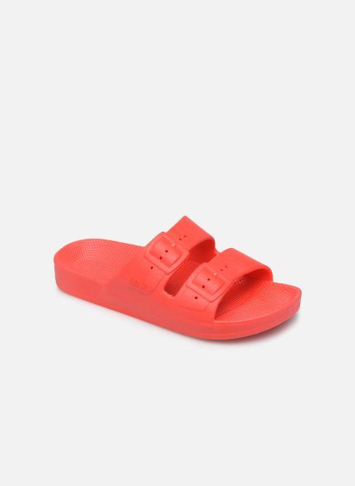 Sandales et nu-pieds MOSES Basic E Rouge vue détail/paire