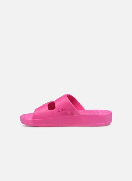 Sandales et nu-pieds MOSES Basic E Rose vue face