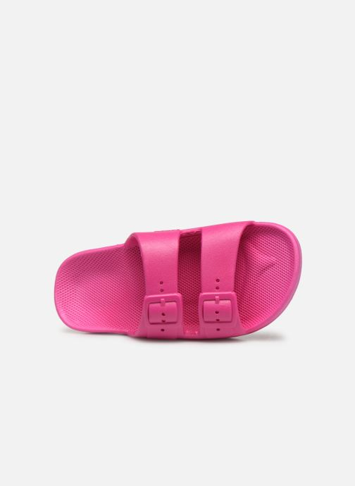 Sandales et nu-pieds MOSES Basic E Rose vue gauche