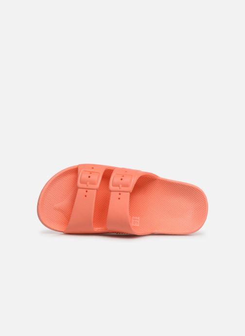 Sandales et nu-pieds MOSES Basic E Orange vue gauche