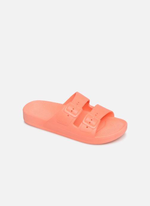 Sandales et nu-pieds MOSES Basic E Orange vue détail/paire