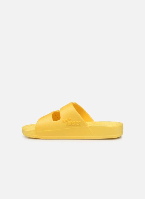 Sandales et nu-pieds MOSES Basic E Jaune vue face