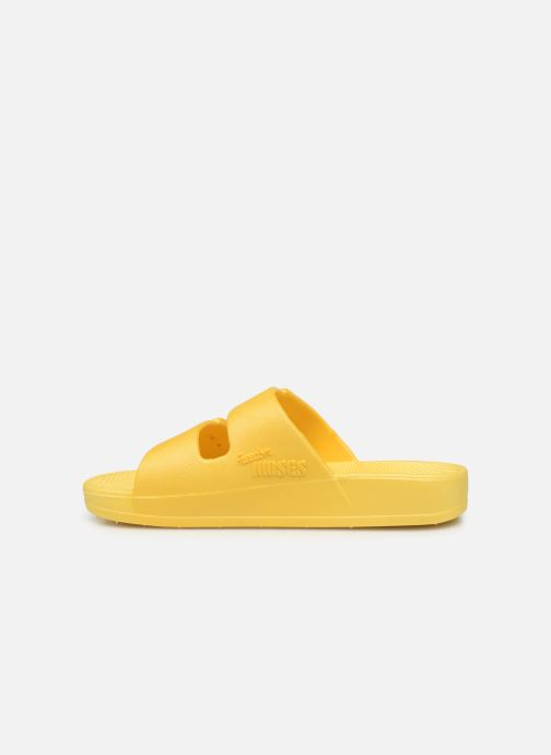 Sandalias MOSES Basic E Amarillo vista de frente