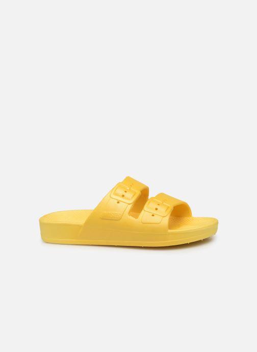 Sandales et nu-pieds MOSES Basic E Jaune vue derrière
