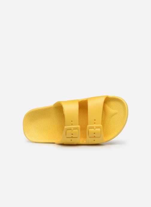 Sandales et nu-pieds MOSES Basic E Jaune vue gauche