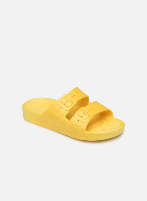 Sandales et nu-pieds MOSES Basic E Jaune vue détail/paire