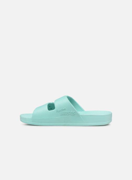 Sandales et nu-pieds MOSES Basic E Vert vue face