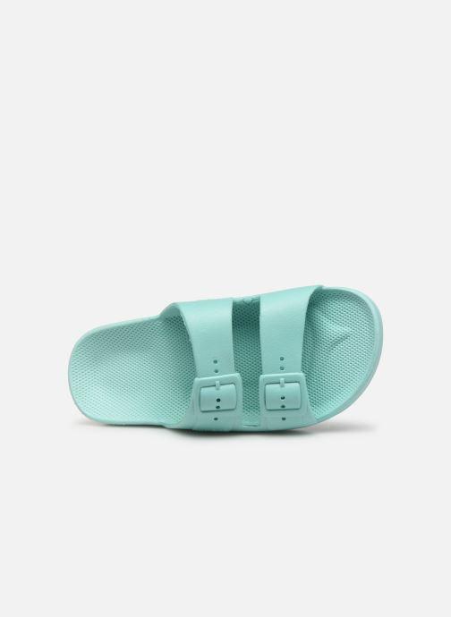 Sandales et nu-pieds MOSES Basic E Vert vue gauche