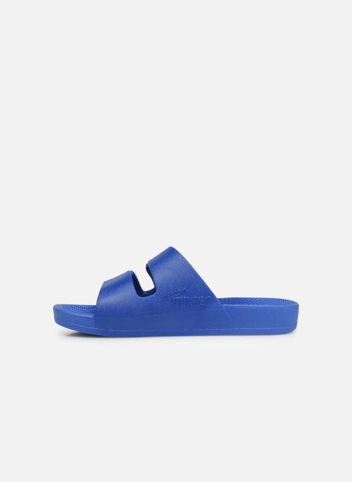 Sandales et nu-pieds MOSES Basic E Bleu vue face