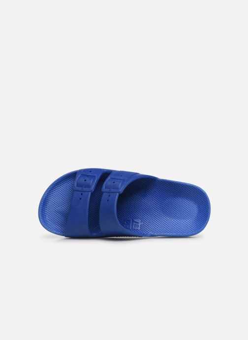 Sandalias MOSES Basic E Azul vista lateral izquierda