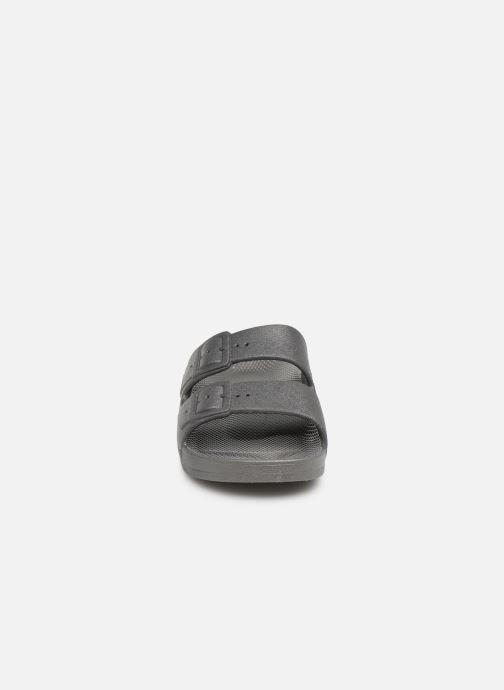 Sandales et nu-pieds MOSES Basic E Gris vue portées chaussures