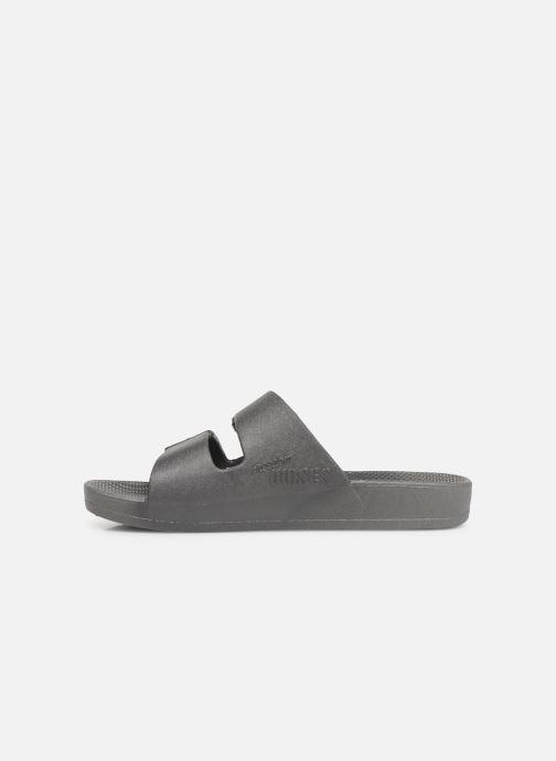 Sandales et nu-pieds MOSES Basic E Gris vue face