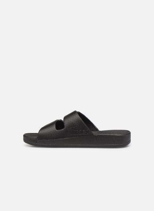 Sandales et nu-pieds MOSES Basic E Noir vue face