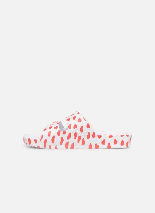 Sandales et nu-pieds MOSES Cœur E Blanc vue face