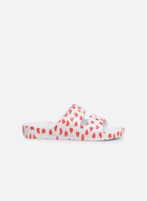 Sandales et nu-pieds MOSES Cœur E Blanc vue derrière