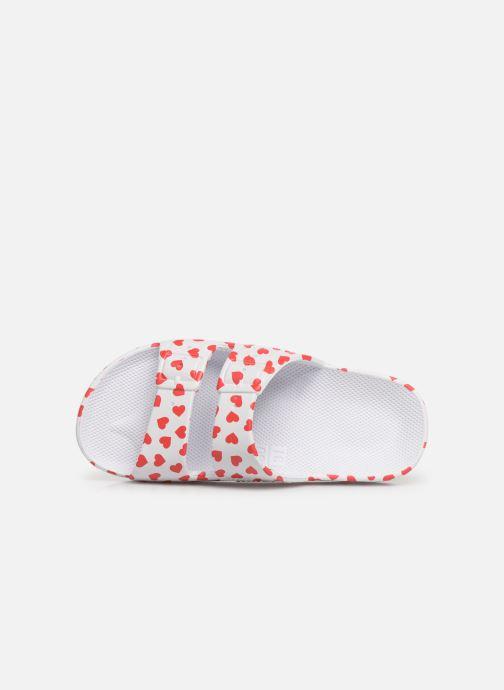 Sandales et nu-pieds MOSES Cœur E Blanc vue gauche