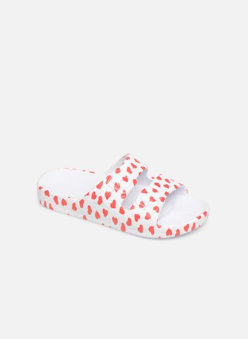 Sandales et nu-pieds MOSES Cœur E Blanc vue détail/paire