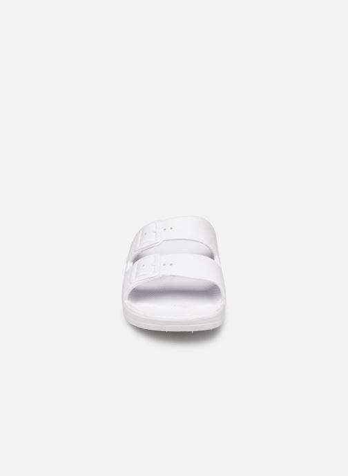 Sandales et nu-pieds MOSES Glitter E Blanc vue portées chaussures