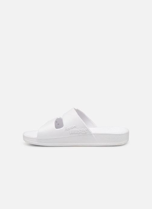 Sandales et nu-pieds MOSES Glitter E Blanc vue face