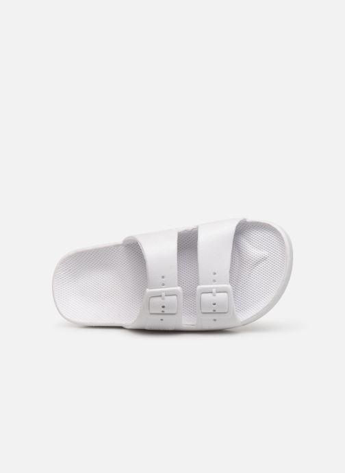 Sandales et nu-pieds MOSES Glitter E Blanc vue gauche