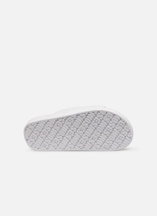 Sandales et nu-pieds MOSES Glitter E Blanc vue haut