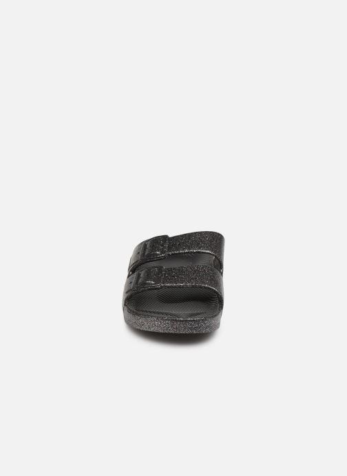 Sandales et nu-pieds MOSES Glitter E Argent vue portées chaussures
