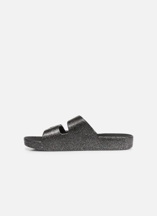 Sandales et nu-pieds MOSES Glitter E Argent vue face