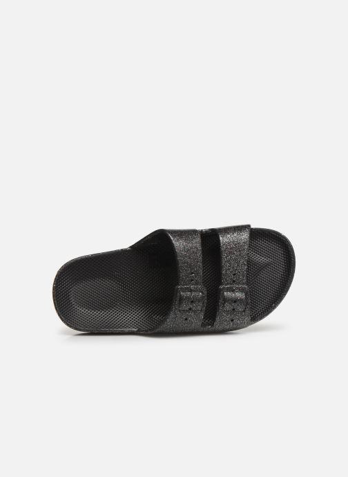 Sandales et nu-pieds MOSES Glitter E Argent vue gauche