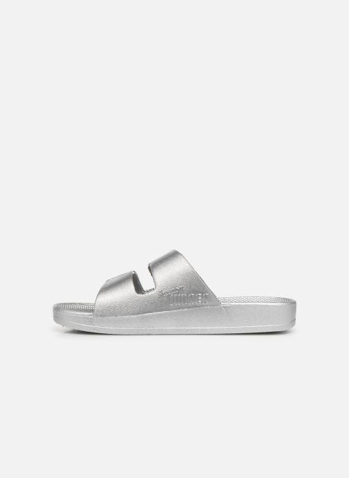 Sandales et nu-pieds MOSES Metallic E Argent vue face
