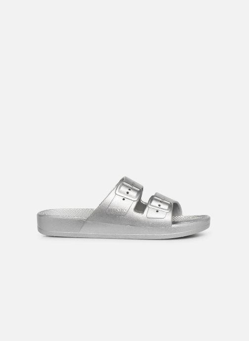 Sandales et nu-pieds MOSES Metallic E Argent vue derrière