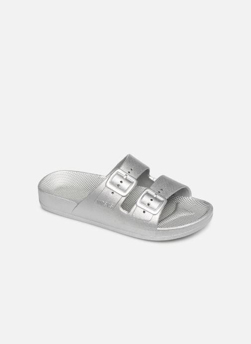 Sandales et nu-pieds MOSES Metallic E Argent vue détail/paire