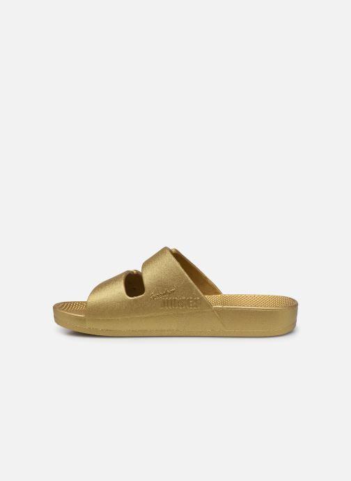 Sandales et nu-pieds MOSES Metallic E Or et bronze vue face