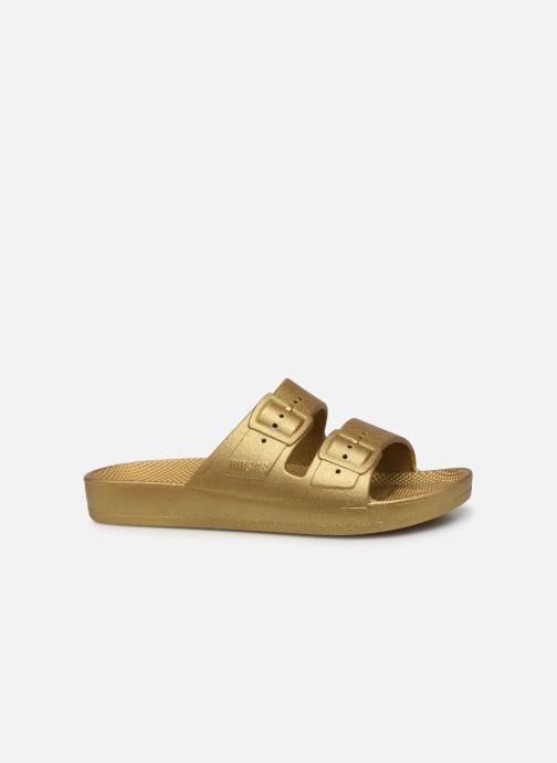 Sandales et nu-pieds MOSES Metallic E Or et bronze vue derrière
