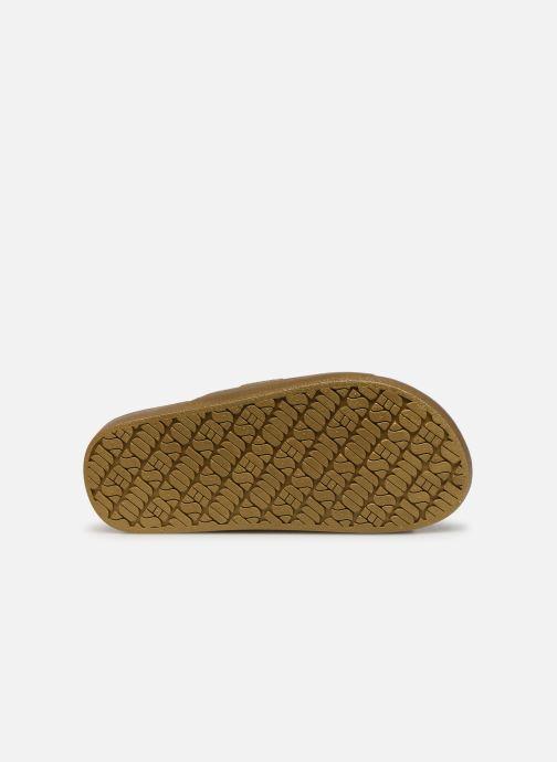 Sandales et nu-pieds MOSES Metallic E Or et bronze vue haut