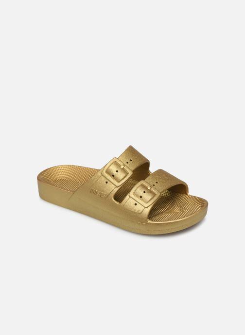 Sandales et nu-pieds MOSES Metallic E Or et bronze vue détail/paire