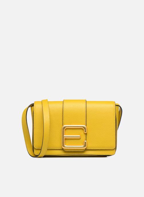 Bolsos de mano Essentiel Antwerp Siloh Leather medium shoulderbag Amarillo vista de detalle / par