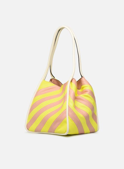 Handtassen Essentiel Antwerp Sherrie medium hobo bag Geel model