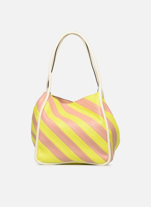 Sacs à main Essentiel Antwerp Sherrie medium hobo bag Jaune vue face