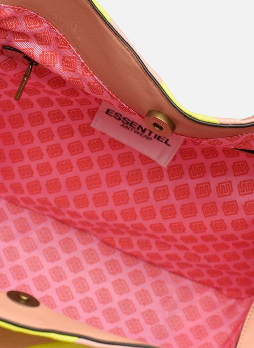 Handtassen Essentiel Antwerp Sherrie medium hobo bag Geel achterkant