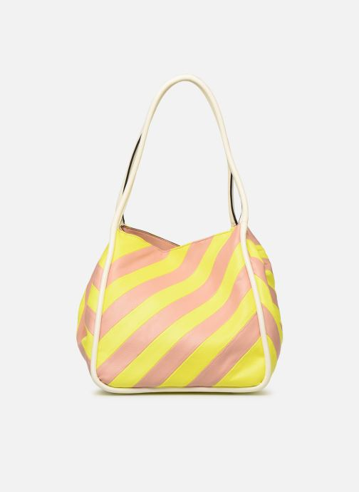Handtassen Essentiel Antwerp Sherrie medium hobo bag Geel detail