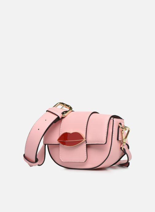 Portemonnaies & Clutches Essentiel Antwerp Swanya mini bum bag rosa schuhe getragen