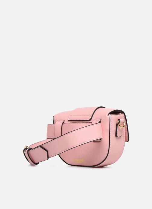Portemonnaies & Clutches Essentiel Antwerp Swanya mini bum bag rosa ansicht von rechts