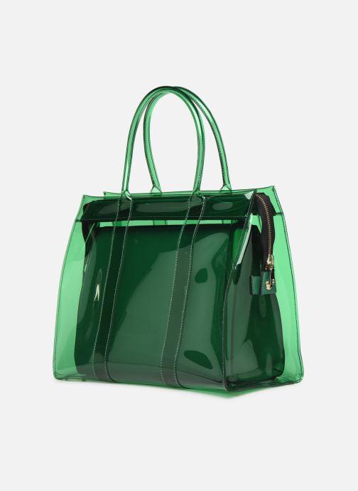 Handtassen Essentiel Antwerp Solomon medium shopper Groen rechts