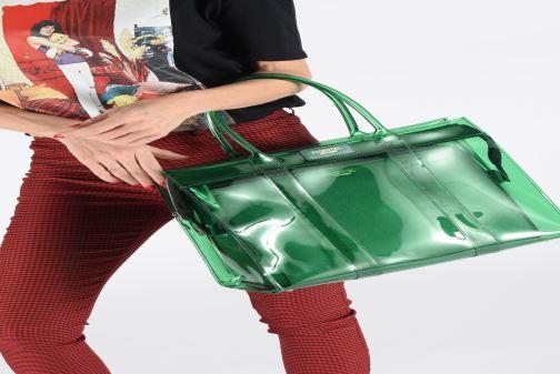 Sacs à main Essentiel Antwerp Solomon medium shopper Vert vue bas / vue portée sac
