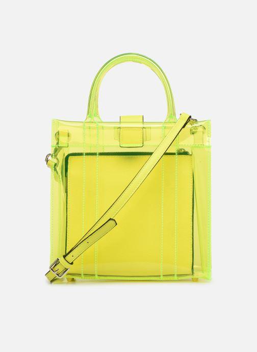 Handtassen Essentiel Antwerp Smooch small shopper Geel voorkant