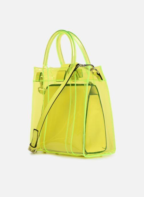 Handtaschen Essentiel Antwerp Smooch small shopper gelb ansicht von rechts