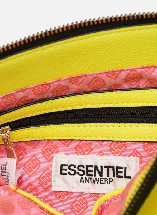 Handtassen Essentiel Antwerp Smooch small shopper Geel achterkant